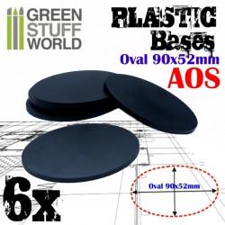 Plastiques Ovale (90x52mm)...