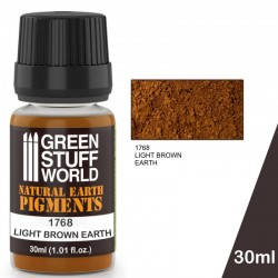 Pigment LIGHT BROWN EARTH -...