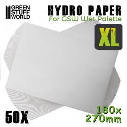 Hydropapier XL x50 - Peintures