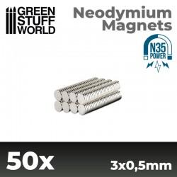 Aimants Néodymes 3x0.5mm...