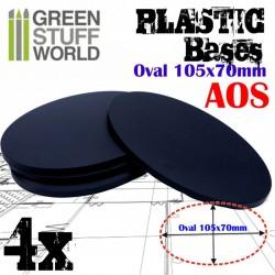 Plastiques Ovale (105x70mm)...