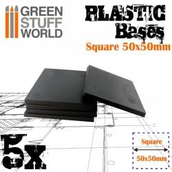 Plastiques Carrés (50x50mm)...
