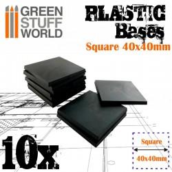Plastiques Carrés (40x40mm)...