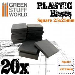Plastiques Carrés (25x25mm)...
