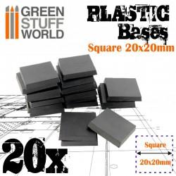 Plastiques Carrés (20x20mm)...