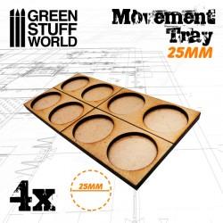 MDF 25mm 2x1 - Plateaux de...