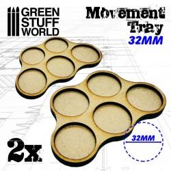 MDF 32mm x5 - Plateaux de...