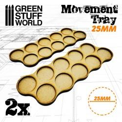 MDF 25mm x10 - Plateaux de...